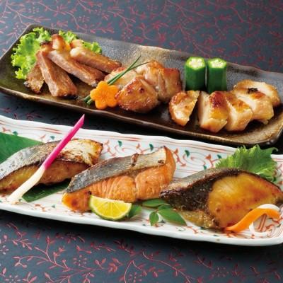 たじみや レンジで魚と肉の西京漬