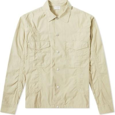 ジョン エリオット John Elliott メンズ シャツ シャツジャケット トップス Cotton Poplin Frame Snap Overshirt Desert