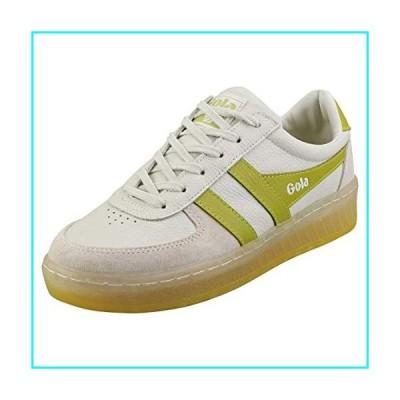 Gola Women's Sneaker, Off White/Citron, 4 UK