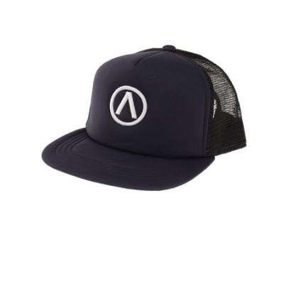 エアボーン(ARBN)帽子 メンズ メッシュキャップ ロゴキャップ ARBNACC-12003 NVY 大きめ 日よけ