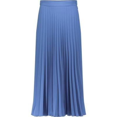 メゾン マルジェラ MM6 Maison Margiela レディース ひざ丈スカート スカート Pleated midi skirt Sky Blue