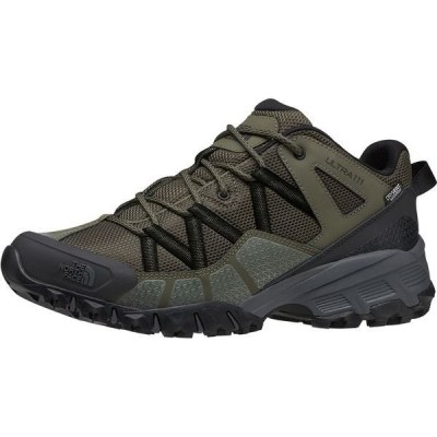 ノースフェイス メンズ スニーカー シューズ Ultra 111 Waterproof Trail Running Shoe