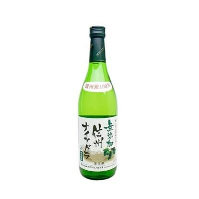 【アルプス】 信州 ナイアガラ 720ml  日本の白ワイン ギフト プレゼント(4906251551499)
