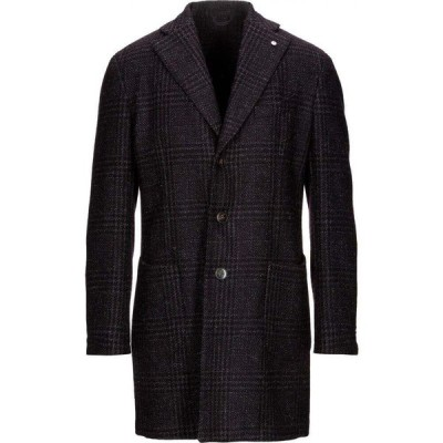 エルビーエム1911 L.B.M. 1911 メンズ コート アウター coat Purple