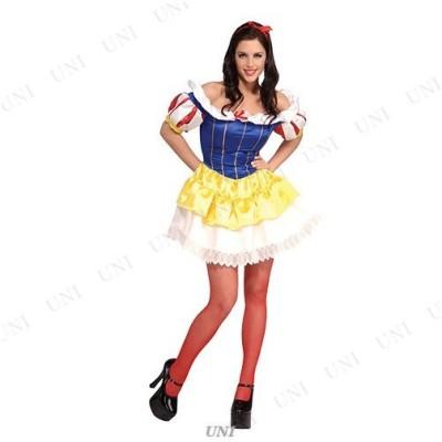 コスプレ 仮装 衣装 ハロウィン プリンセス コスチューム 大人用 余興 白雪姫ドレス XS