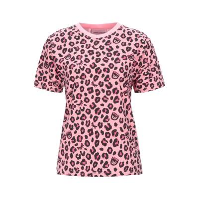 キアラ・フェラーニ CHIARA FERRAGNI T シャツ ピンク XS コットン 100% T シャツ