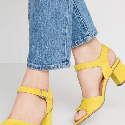 レディース サンダル TILLY - Sandals - lemon