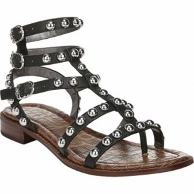サム エデルマン Sam Edelman レディース サンダル・ミュール グラディエーター シューズ・靴 Eavan Gladiator Sandal Black Leather