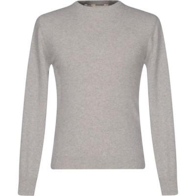 リブランディッド RE_BRANDED メンズ ニット・セーター トップス Cashmere Blend Light grey