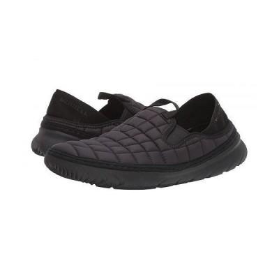 Merrell メレル レディース 女性用 シューズ 靴 スニーカー 運動靴 Hut Moc - Triple Black