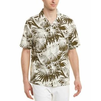 Vince ヴィンス ファッション アウター Vince Palm Leaf Cabana Buttondown Shirt