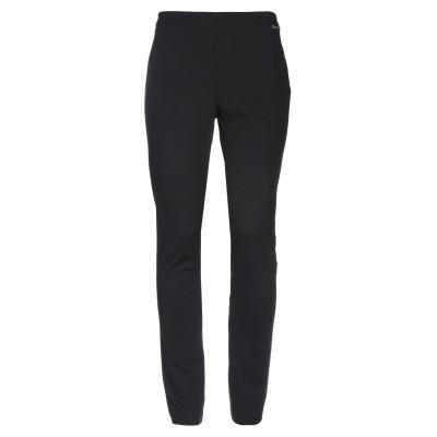 ツインセット シモーナ バルビエリ TWINSET パンツ ブラック XS ポリエステル 70% / レーヨン 25% / ポリウレタン 5% パンツ