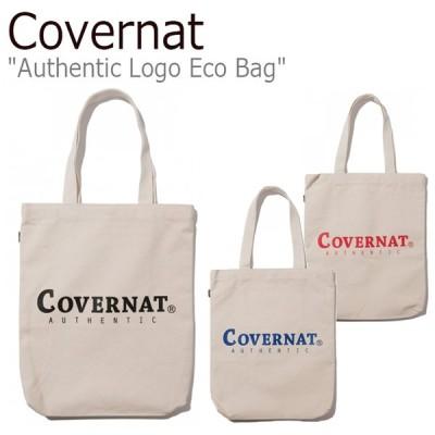 カバーナット トートバッグ Covernat メンズ レディース AUTHENTIC LOGO ECO BAG オーセンティック ロゴ エコバッグ C1906BG05BL/RD/BK バッグ
