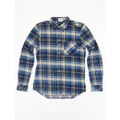 SALE!! Seven Color (セブンカラー) CHECK SHIRT (チェックシャツ) BLUE CHECK