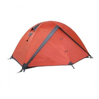 テント Jingzou Outdoor camping trio multiplayer double aluminum mountaineering camping tents 210120?60+180+60?cm