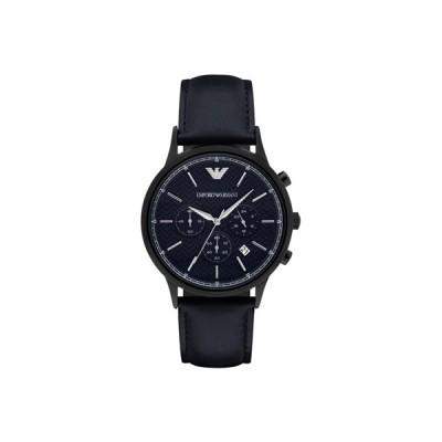 エンポリオ アルマーニ EMPORIO ARMANI 腕時計 メンズ ダークネイビー AR2481
