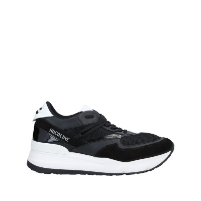 ルコライン RUCOLINE スニーカー&テニスシューズ(ローカット) ブラック 44 革 / 紡績繊維 スニーカー&テニスシューズ(ローカット)
