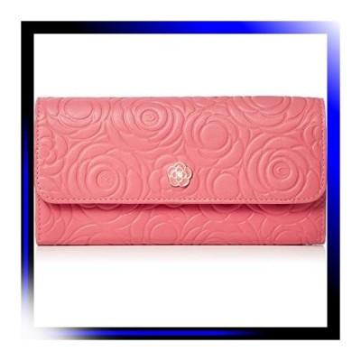 ピンク クレイサス 長財布 フラップ長財布 カメル 188100