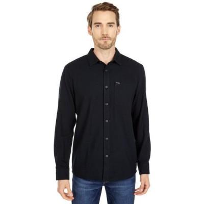 メンズ シャツ トップス Caden Solid Long Sleeve Button-Up