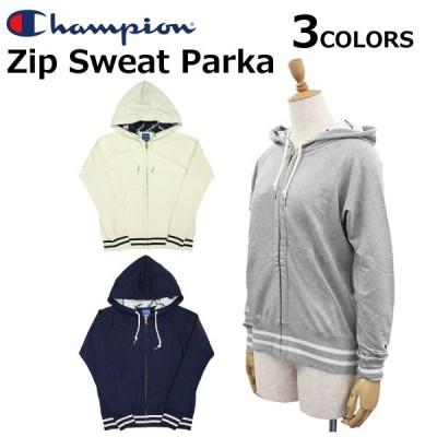 Champion チャンピオン Zip Sweat Parka ジップ スウェットパーカー トップス メンズ CWNS110 ルームウェア 部屋着