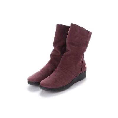 ヨーロッパコンフォートシューズ EU Comfort Shoes Softinos ミドルブーツ(900.417) (パープル)