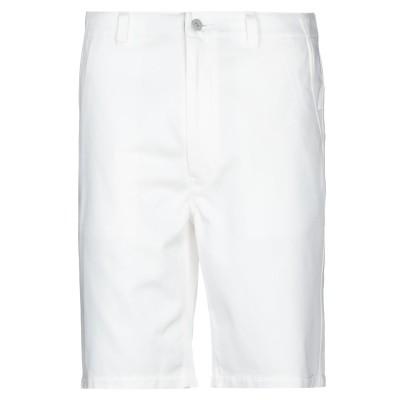 ジュンヤ ワタナベ JUNYA WATANABE バミューダパンツ ホワイト XL コットン 100% バミューダパンツ