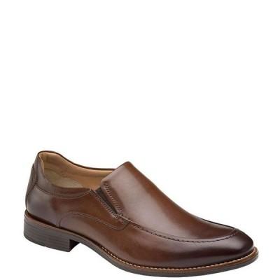ジョンストンアンドマーフィー メンズ スリッポン・ローファー シューズ Men's Lewis Moc Toe Venetian Slip-Ons