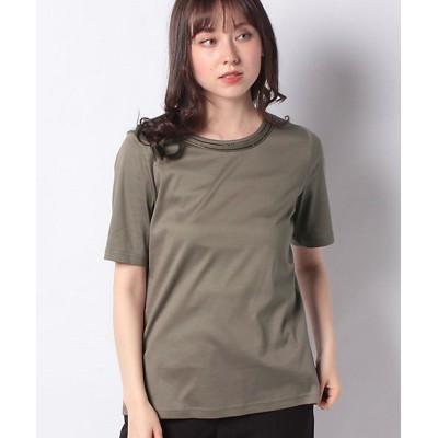 <Leilian(Women)/レリアン> 半そでTシャツ コゲチャ【三越伊勢丹/公式】