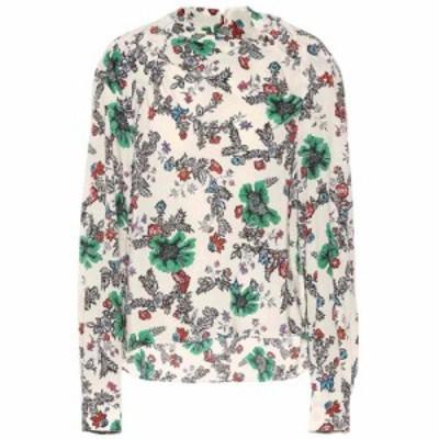 イザベル マラン Isabel Marant レディース ブラウス・シャツ トップス Clare stretch silk blouse ecru