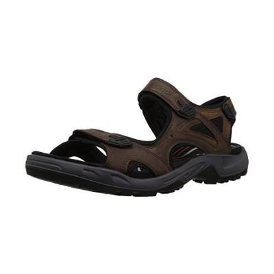 ECCO Men's Offroad Lite 3-Strap Sandal, Espresso/Cocoa Brown Nubuck, 43 M EU (9-9.5 US)