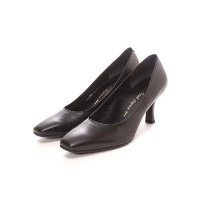 ビューフォートエレガンス BeauFort elegance 3Eウイズウォーキングパンプス(ブラック)