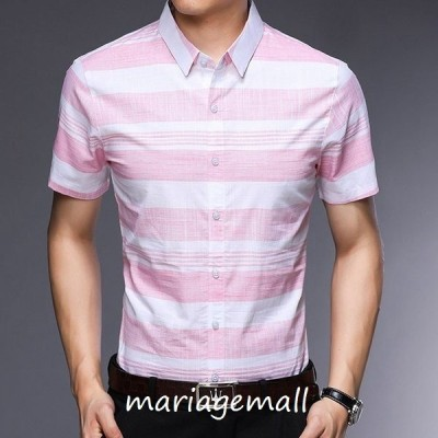 シャツメンズカジュアルシャツメンズ半袖トップスアウトドア通勤薄てシャツ大きいサイズアメカジ春夏