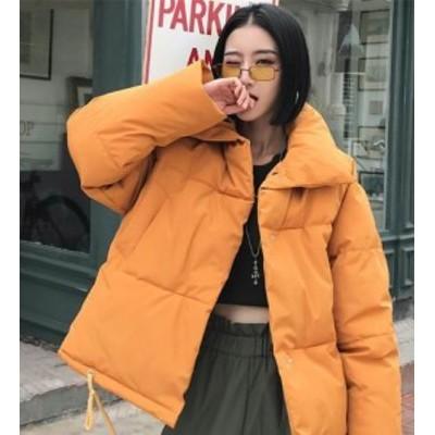 イエロー ダウンジャケット 大人上品 ジャケット コート 冬アウター 暖か 長袖 大人可愛い 防寒 スタイリッシュ フェミニン 美シルエット