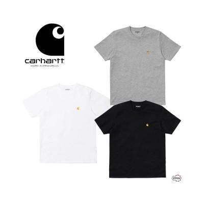 日本正規品 carhartt WIP カーハート ダブリュー アイ ピー S/S CHASE T-SHIRT I026391 半袖 Tシャツ メンズ ロゴ 白 黒  グレー