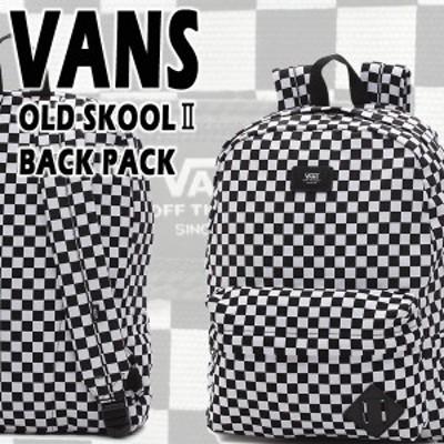 VANS/バンズ ヴァンズ OLD SKOOL 2 BACKPACK CHECKER BLACK/WHITE CHECK 鞄 リュック バックパック チェッカー柄