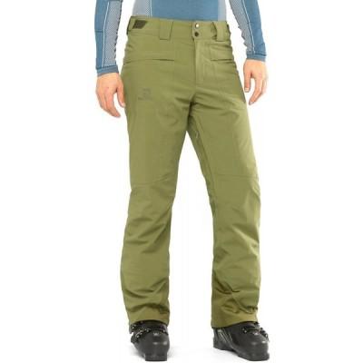 サロモン Salomon メンズ スキー・スノーボード ボトムス・パンツ brilliant ski pants Martini Olive