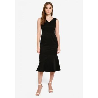 ビーワイエスアイ Bysi レディース パーティードレス Vネック ノースリーブ ワンピース・ドレス V-Neck Sleeveless Dress Black