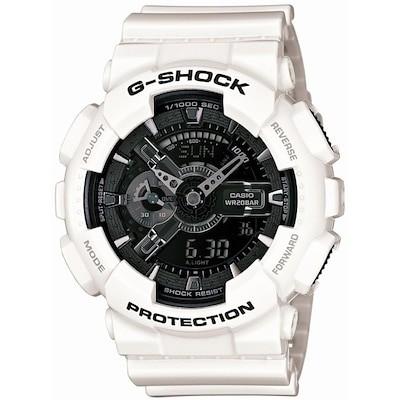 [カシオ]Casio 腕時計 G-SHOCK ジーショック White and Black Series ga-110gw-7ajf メンズ GA110GW7AJF GA-110GW-7AJF