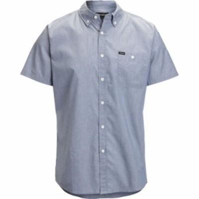 ブリクストン 半袖シャツ Central Shirts Light Blue Chambray