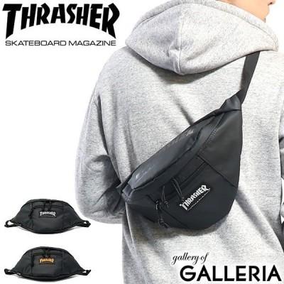 スラッシャー ウエストバッグ THRASHER ウエストポーチ ボディバッグ 斜めがけ ワンショルダー 高校生 ストリート コンパクト メンズ レディース THRPN-3900