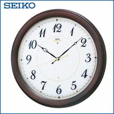 【送料無料】セイコー クロック 掛時計 電波時計 SEIKO EMBLEM HS547B