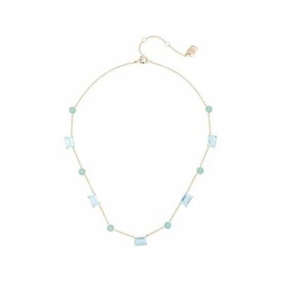 (取寄)ローレン ラルフローレン レディース 16 ストーン カラー ネックレス LAUREN Ralph Lauren Women's 16 Stone Collar Necklace Gold