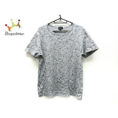 ポールスミス PaulSmith 半袖Tシャツ サイズM レディース 美品 - グレー×ネイビー 新着 20201229