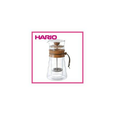 大人気! HARIO ハリオ ダブルグラスコーヒープレス DGC-40-OV (400ml) 3杯用 コーヒーポット ギフト