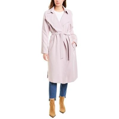 ケンデールアンドカイル コート アウター レディース Kendall + Kylie Crepe Trench Coat lilac