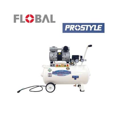 【メーカー直送】静音オイルレスエアーコンプレッサー PCR3010 00541728 安心 代引不可 フローバル FROBAL