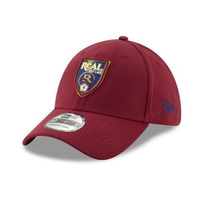 ニューエラ 帽子 アクセサリー メンズ Real Salt Lake Team Classic 39THIRTY Cap DarkRed