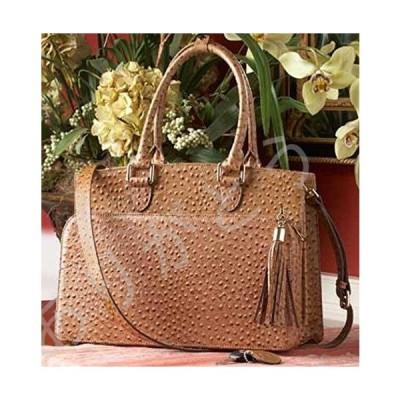 新品 Concealed Carrie Ostrich Handbag