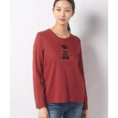 キャラオクルスガールモチーフTシャツ
