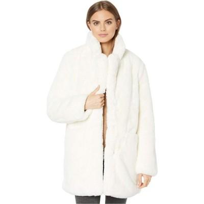 アパリス APPARIS レディース コート ファーコート アウター Sophie 2 Faux Fur Coat Ivory